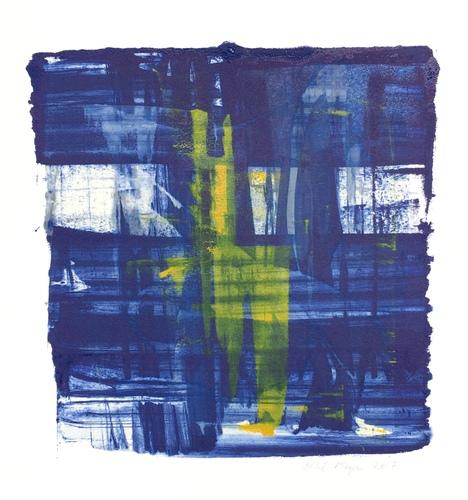 "SPLASH 4, Chloé Meyer original art, 10"" x 11"", ink on paper"