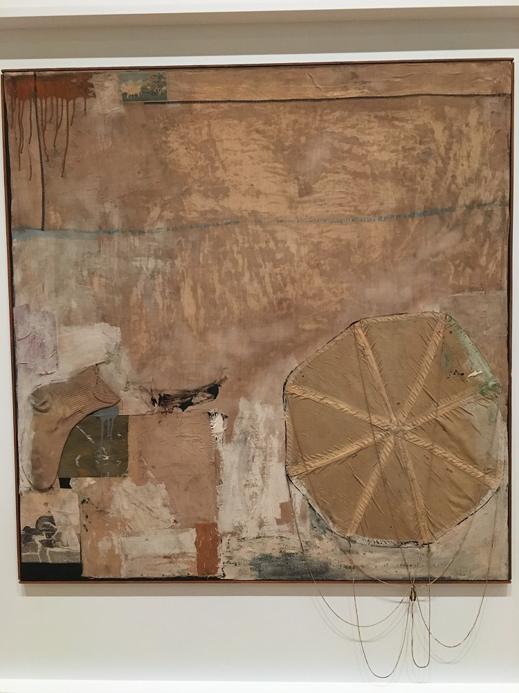 Artwork by Robert Rauschenberg, at SFMoMA - image credit Chloe Meyer