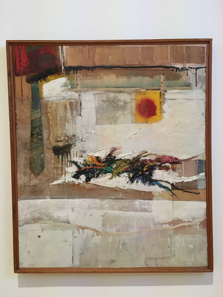 Artwork by Robert Rauschenberg, photo credit Chloe Meyer