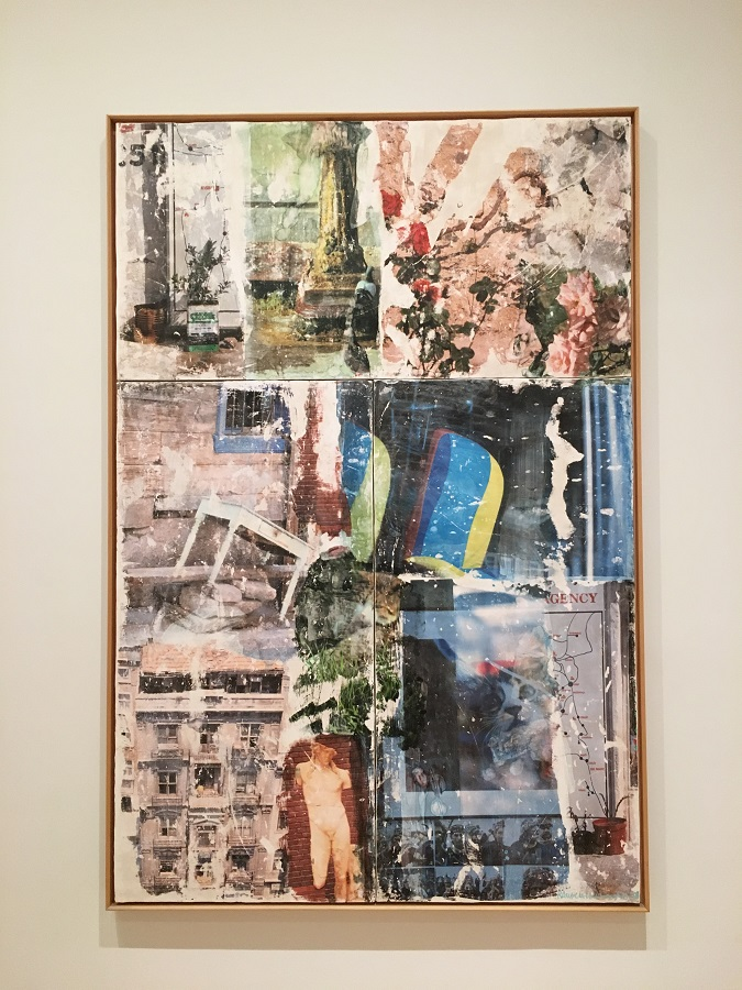 Artwork by Robert Rauschenberg, image credit Chloe Meyer