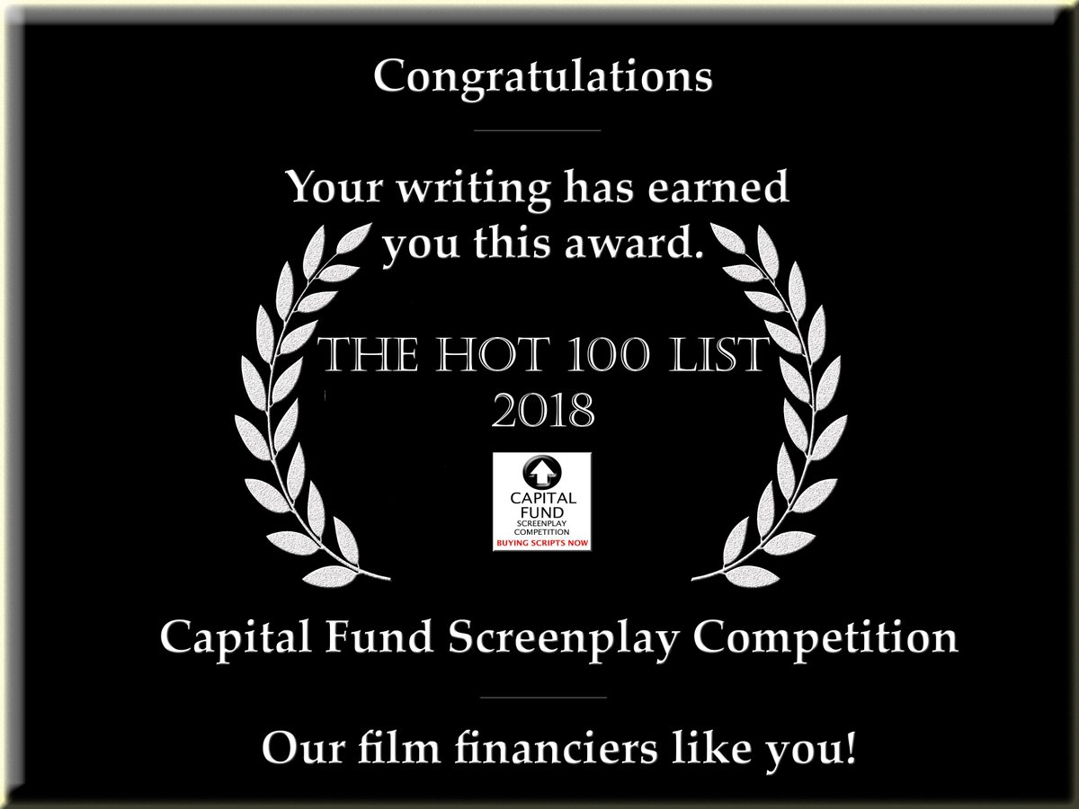 Recognition for a script in 2018