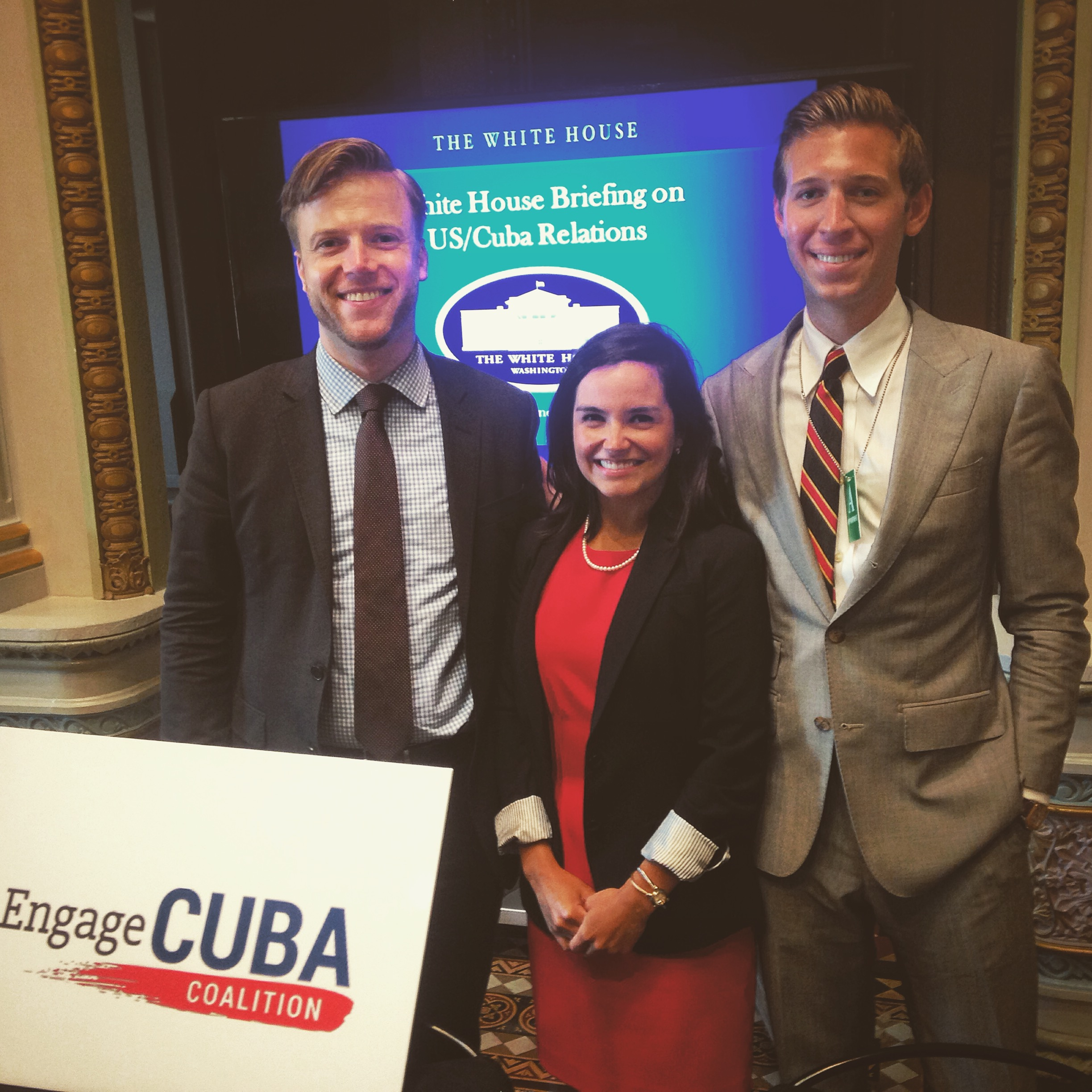 7.22.15 Engage Cuba Luncheon at the White House
