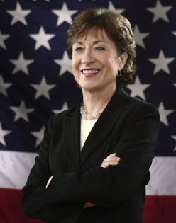 Senator Susan Collins (R-ME)   Cosponsor of  S 1287 Freedom for Americans to Travel to Cuba Act  &  S 275 Agricultural Export Expansion Act