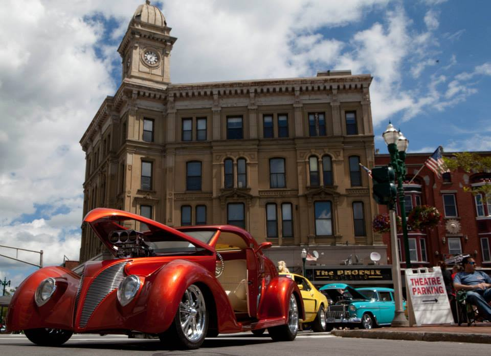 Founder's Day Car Show, photo by Maureen McEvers