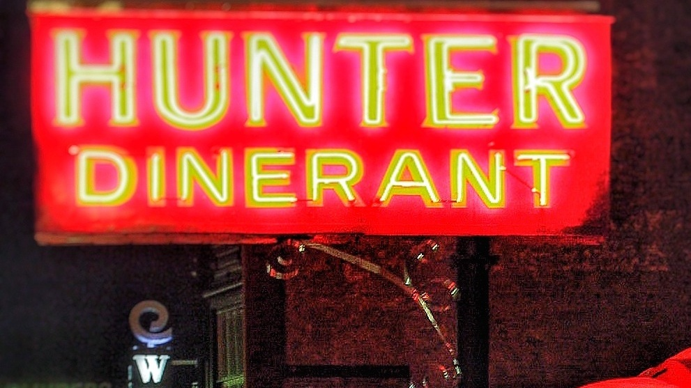 Hunter's Diner by Michael Ryan