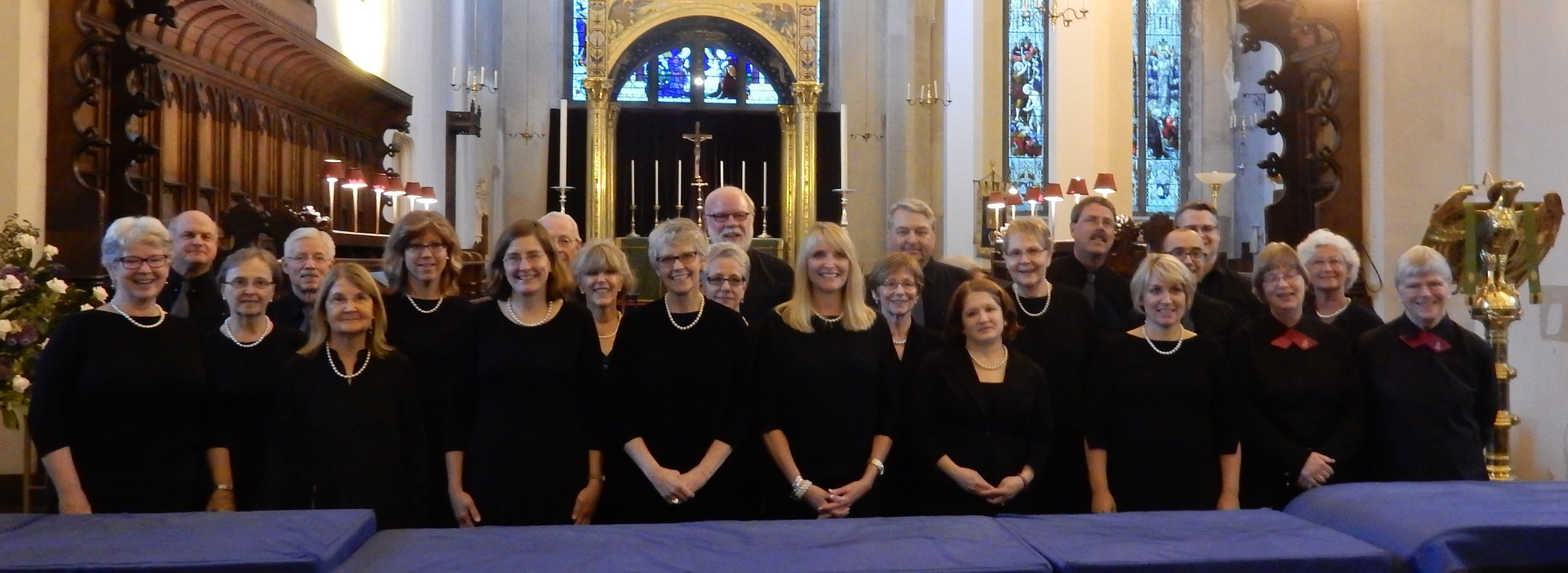 Chancel Choir in St. Andrews Cathedral during the Scotland Heritage Tour