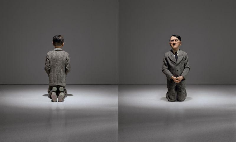 """'Kneeling Hitler': Controversial sculpture could fetch over $10M,"" The Columbus Dispatch, April 16, 2016, p A2."