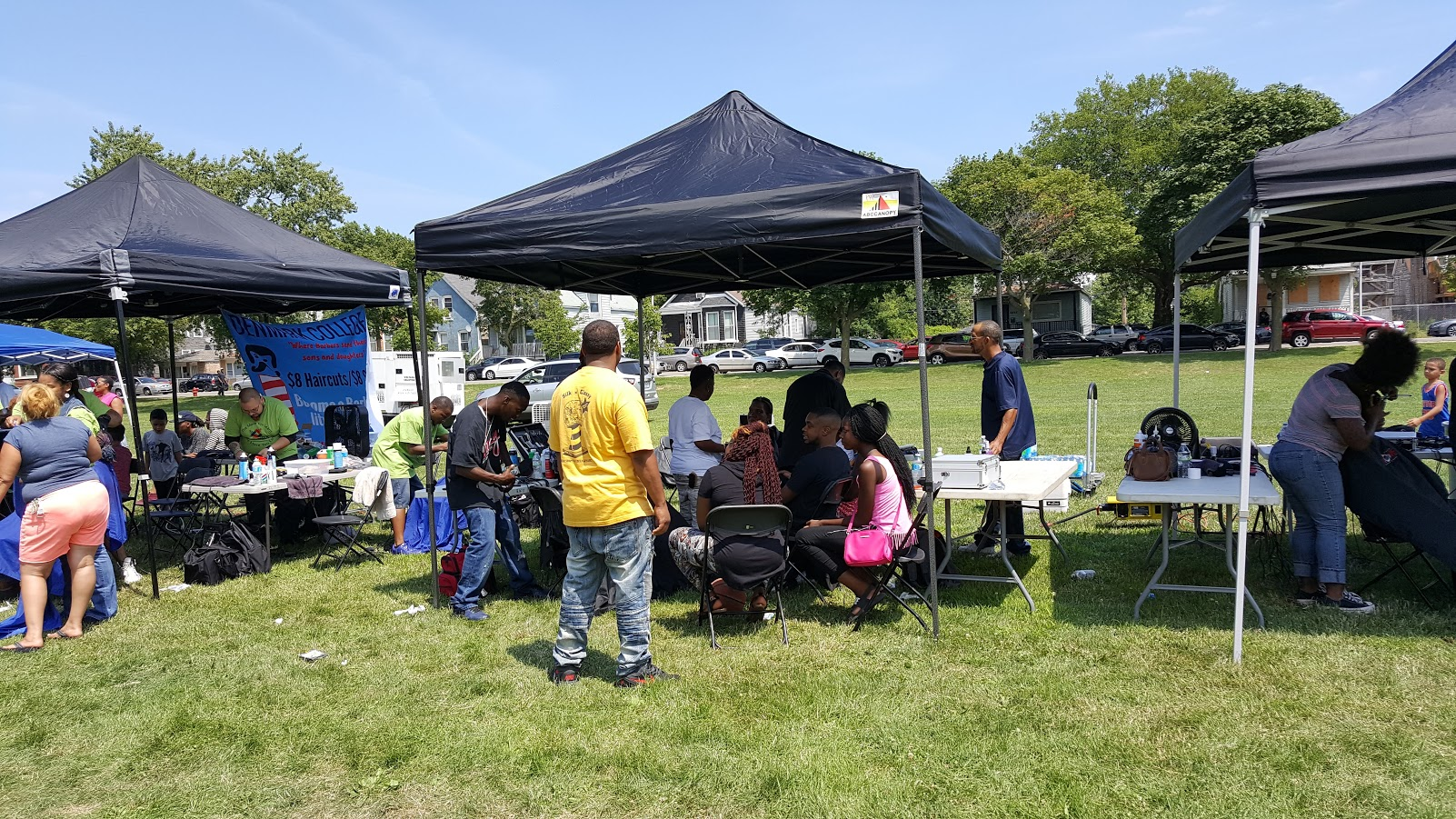 2017 Brotherhood of Barbers event, Ogden Park, Chicago