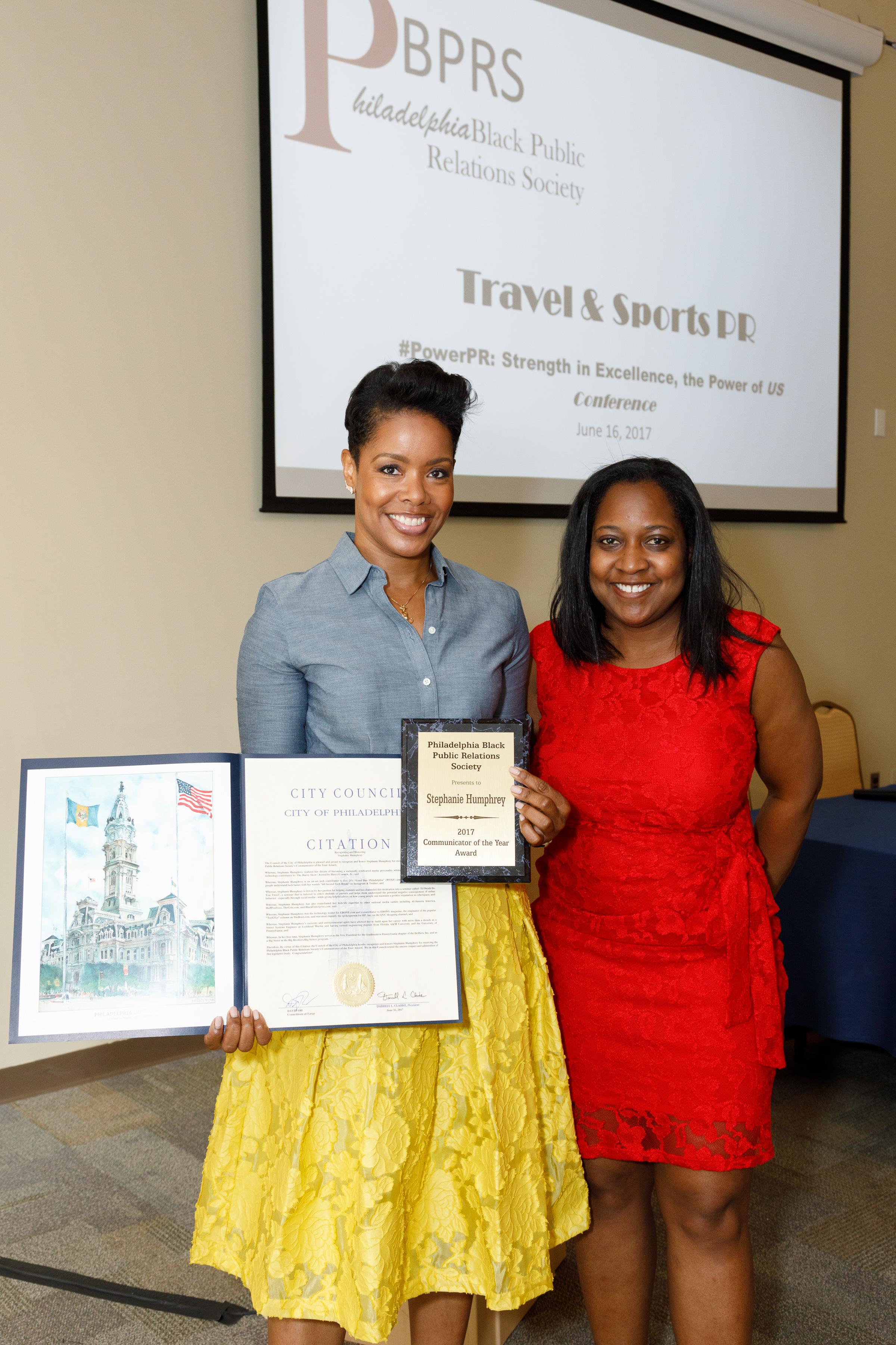 Stephanie Humphrey Recieves award for Communicator of the Year.jpg