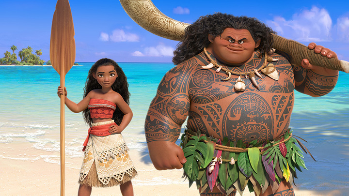 """Disney's new film """"Moana"""" features a Pacific Island chief's daughter and the demigod Maui, from Polynesian culture. ( Disney )"""