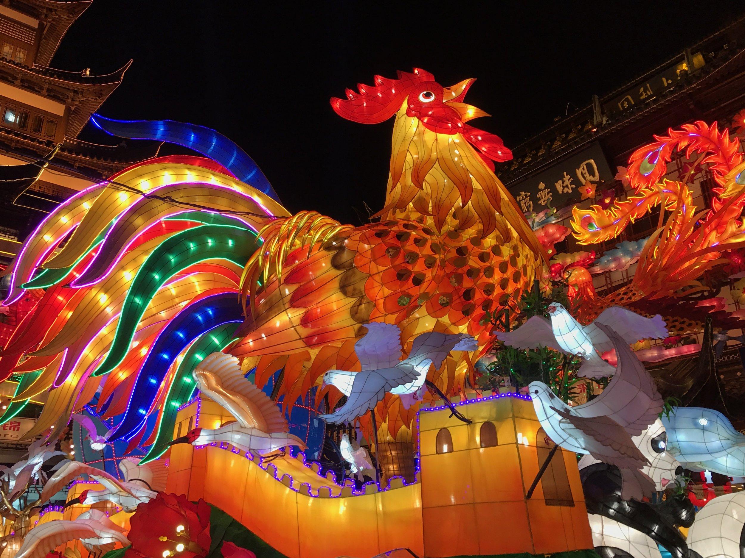 Lantern Festival in the Yu Gardens 豫園 in Shanghai. Source: Kevin Hsu