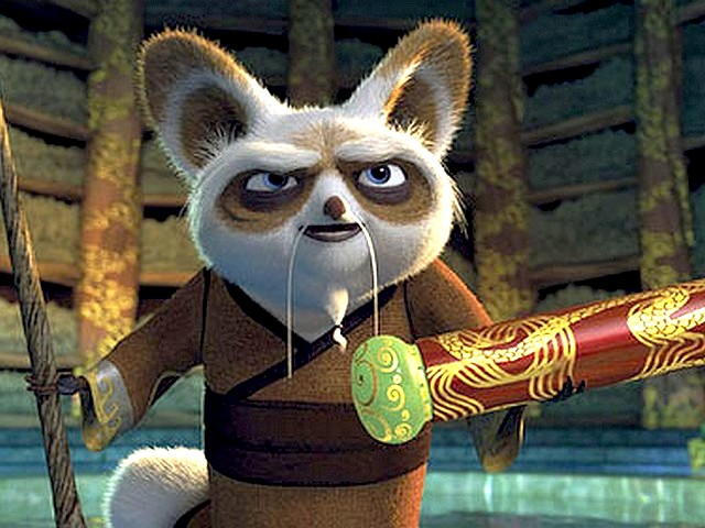 Still from Kung Fu Panda  movie