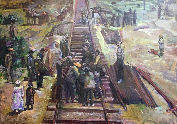 Hou_Ning_image_of_railroad_workers