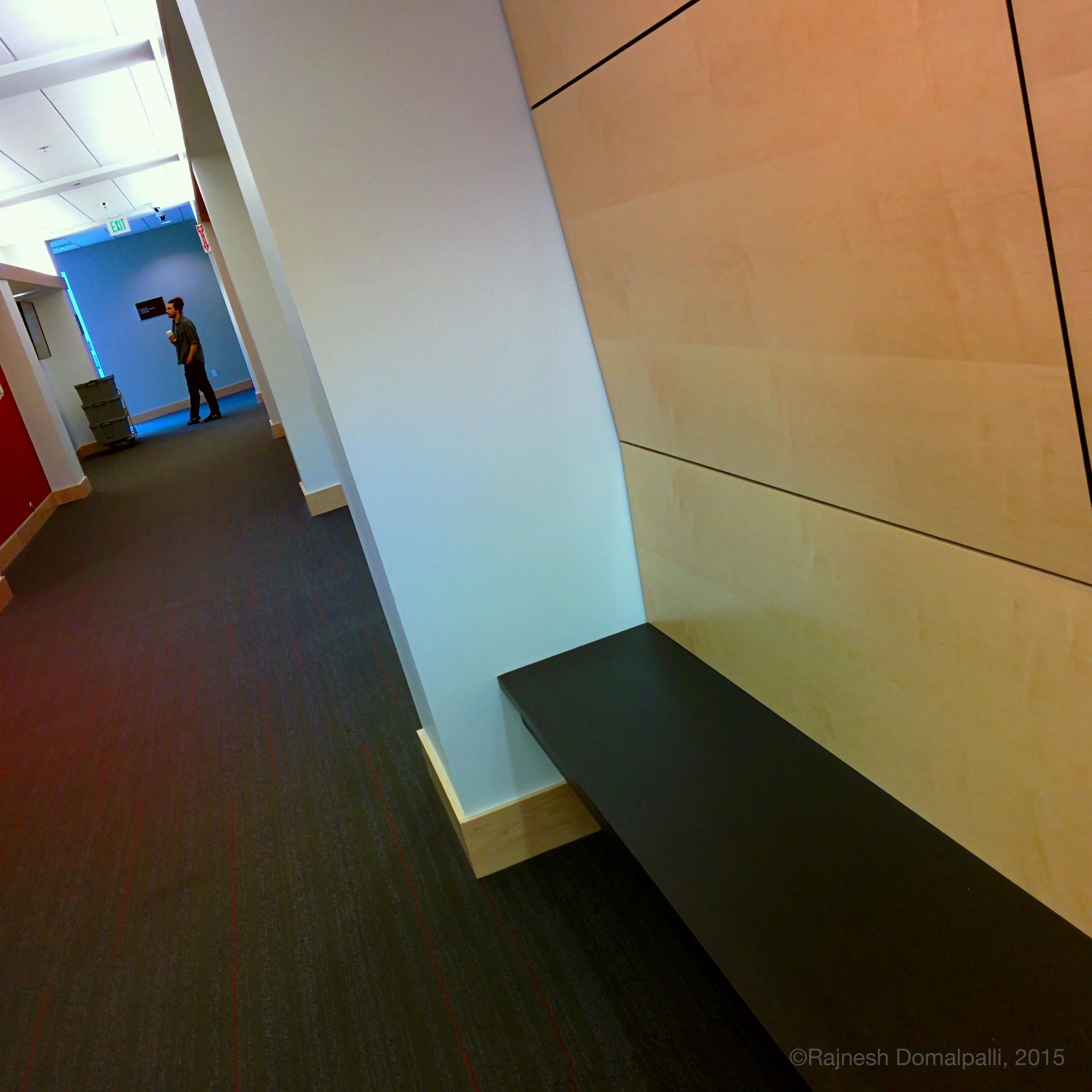 Bench in Corridor