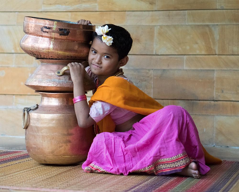 Mangi, 8 year old lead of Avani