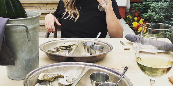 4. Regional Canadian Cuisine - A fresh take on rodeo fare: Fresh shucked oysters,Coffee Glazed Alberta Lamb Ribs, Gin and Juniper house-cured Wild Salmon, and Fried Chicken and Biscuits with fermented Jalapeno. All this and edibles from the on-site gardens.