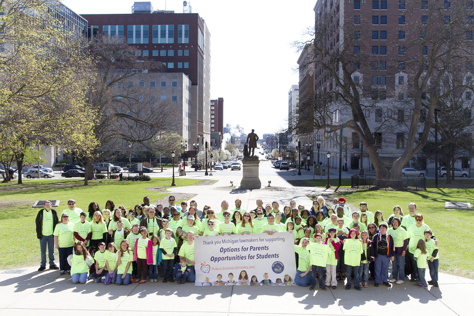 PSO families visit the Capitol.