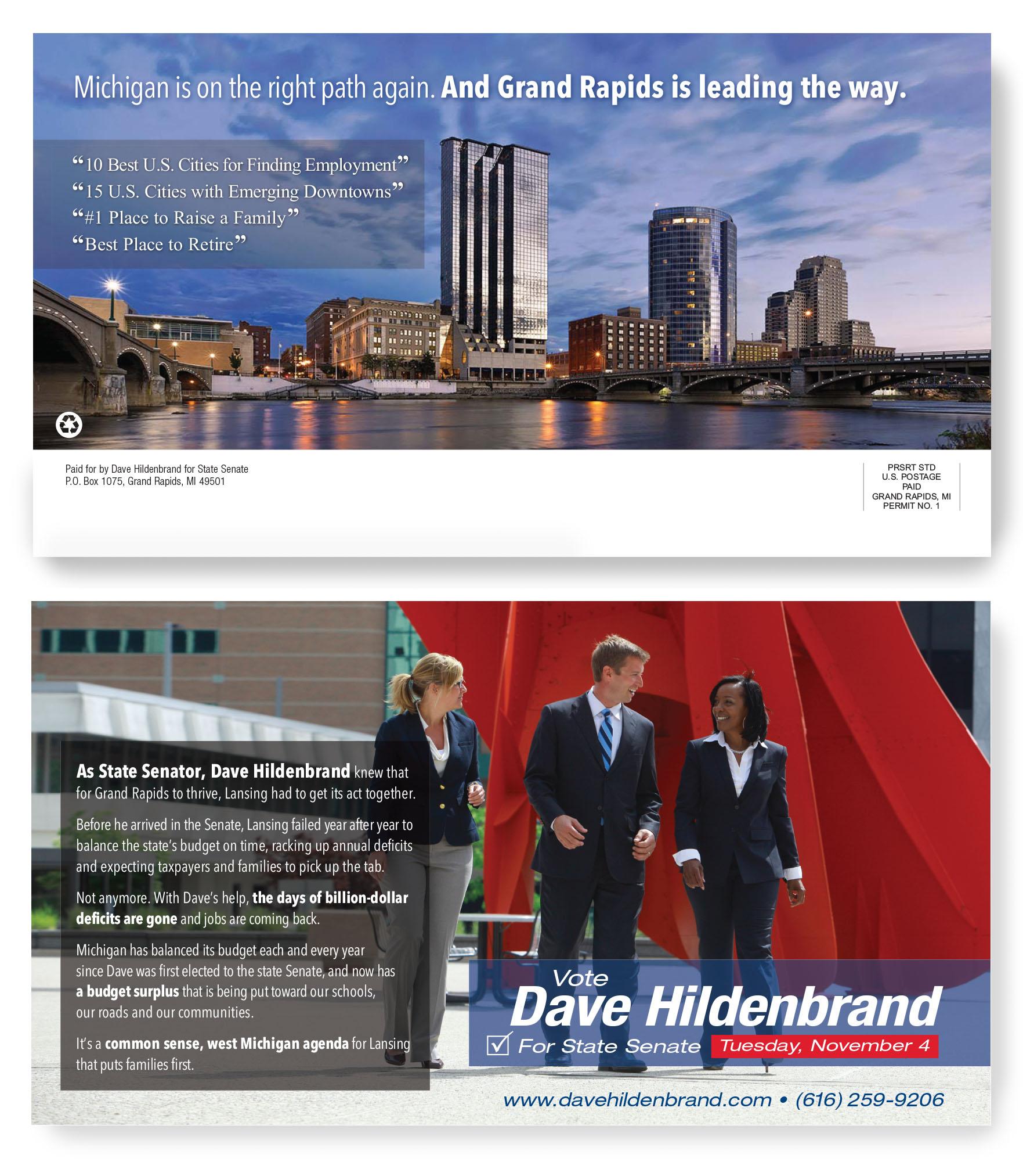 Hildenbrand For Senate direct mail