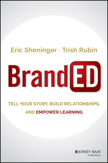 "Branded  Move beyond typical mascots, static websites, and predictable tag lines to showcase a school's unique assets. This ground breaking book shows how a ""BrandED"" mindset improves school communication, relationships, and resources by telling the story of the school brand. Adapting the best of business branding leads to a new idea in education. BrandED is a fit for powering communication in today's schools."