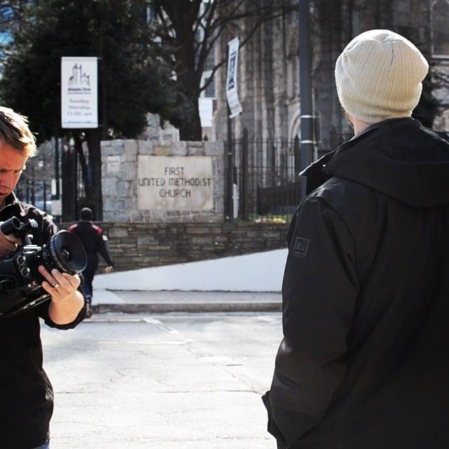 Short film in Atlanta #handheld #sonyf3 #zeiss #breatheexcellence @charlesgeorgi