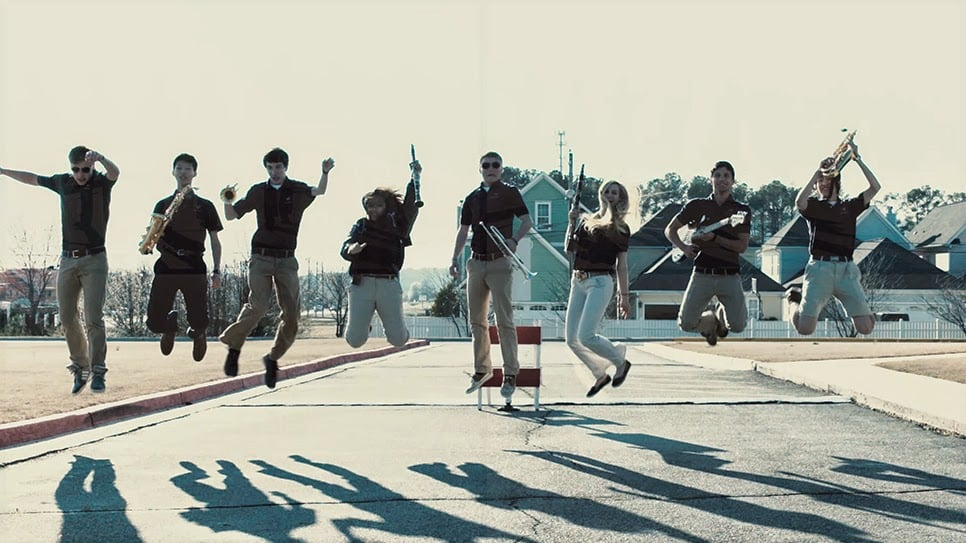 Screenshot of the ECA band from the Excel video.