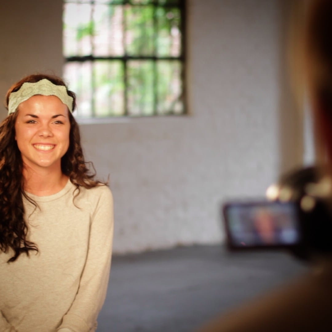 "Nicole Veldman encourages viewers to gon missions trips saying, ""Go do it.  Go change the world!"""