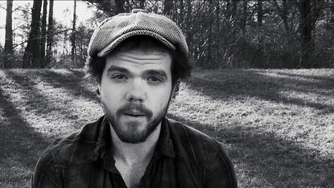 Screenshot of Daniel during the  worship  video