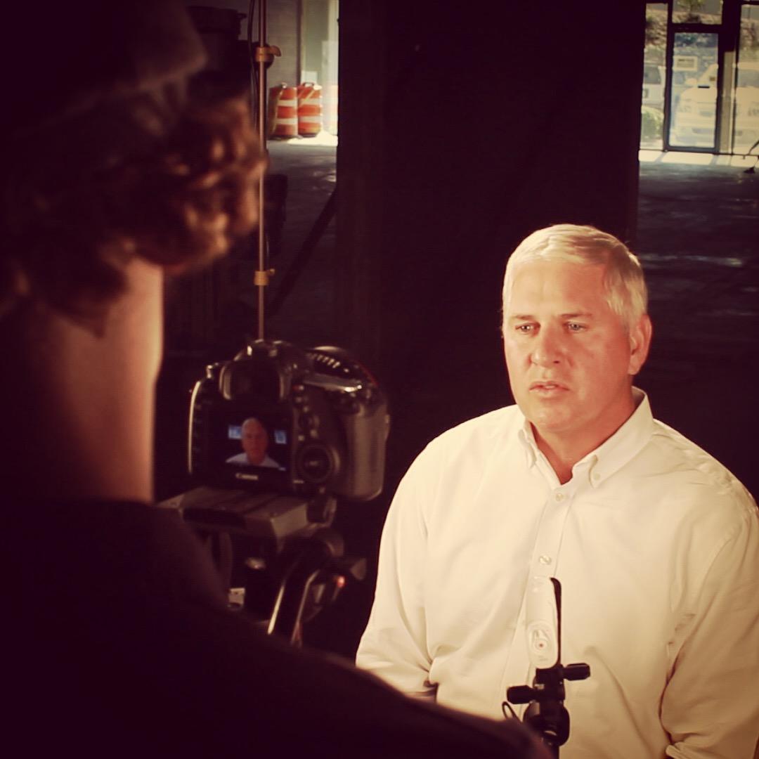 Jeff Martin (President at Martin Concrete) did a fantastic job communicating on camera.