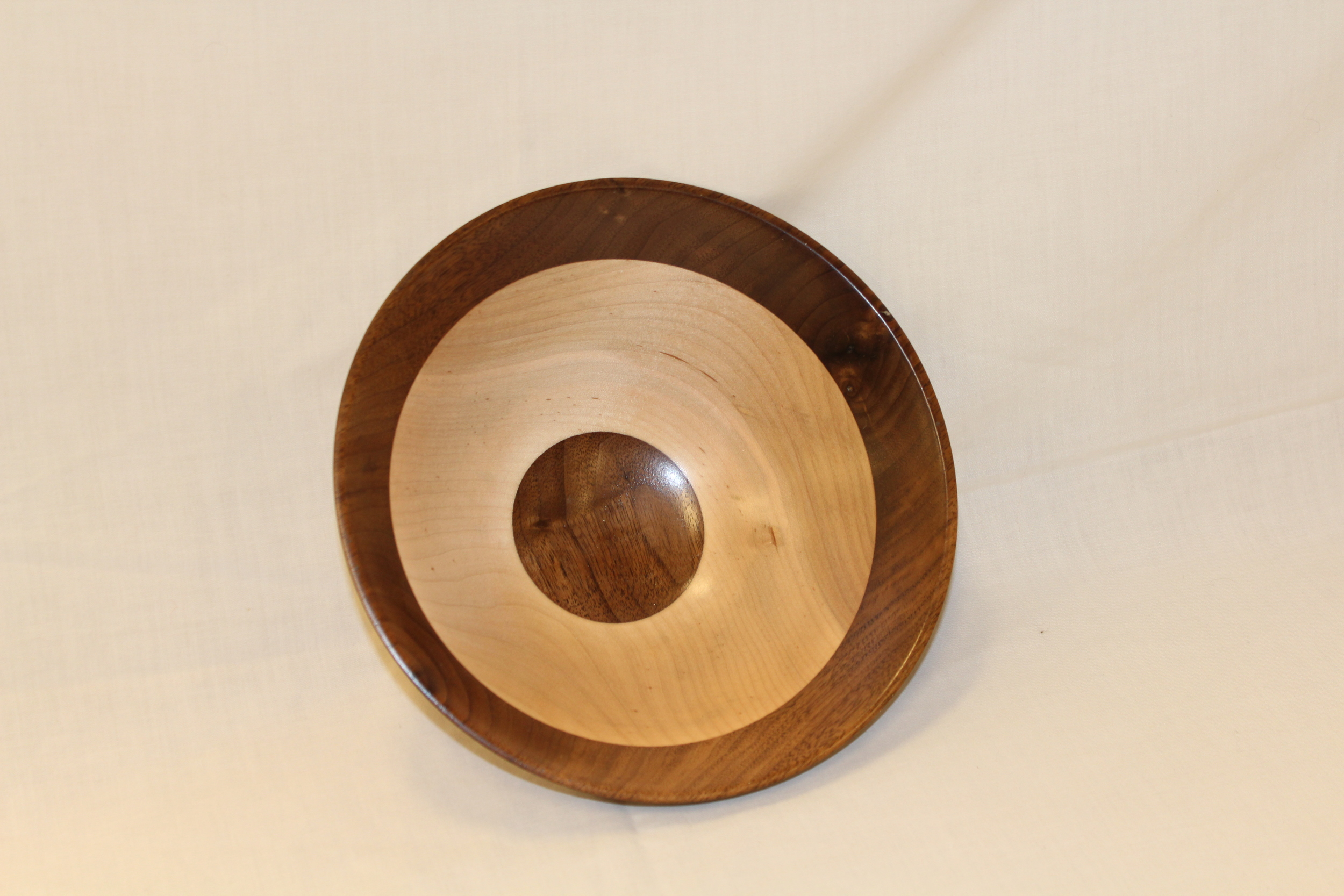 Canadian Maple and Walnut Bowl