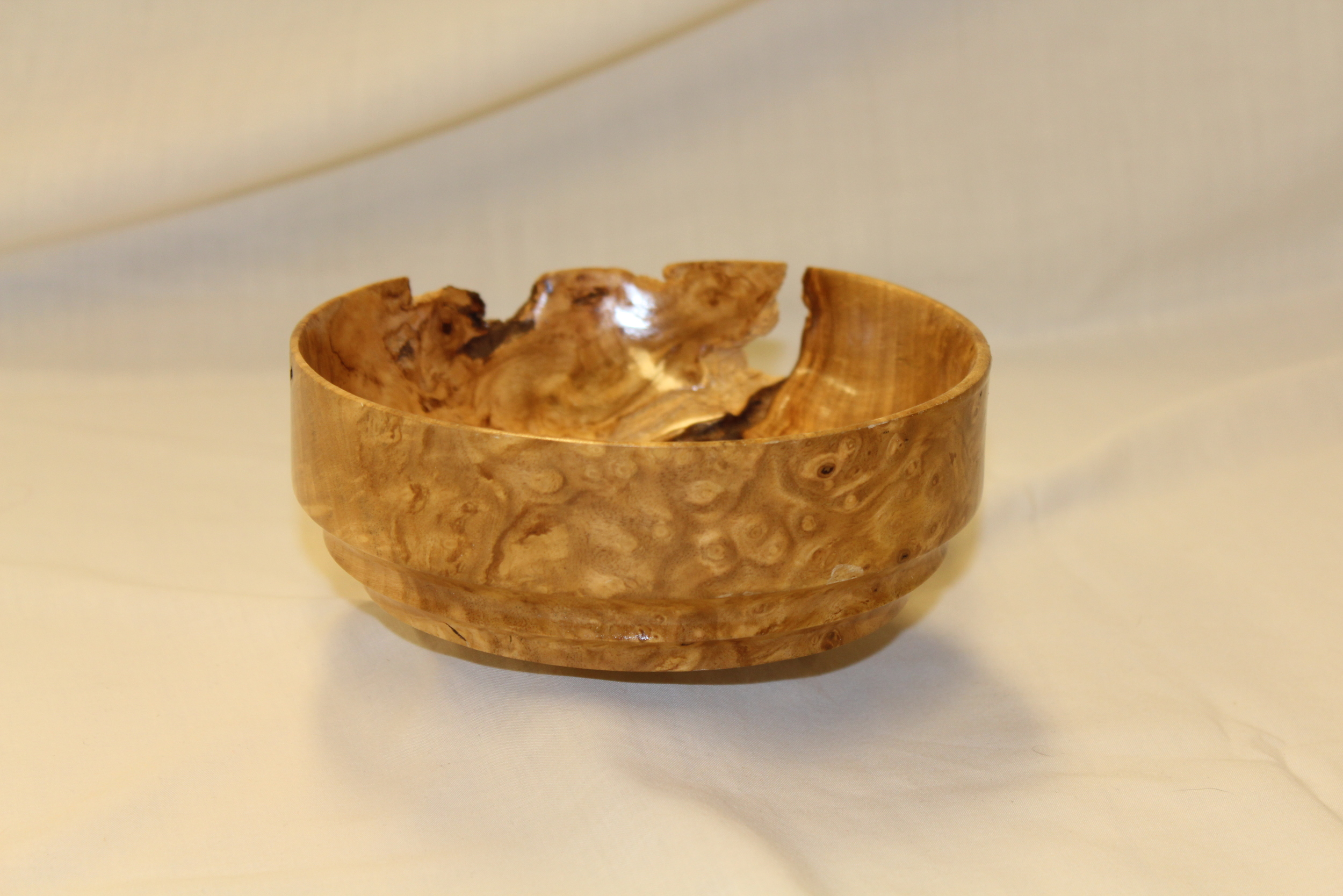 Natural Form Bowl (Unknown Wood)