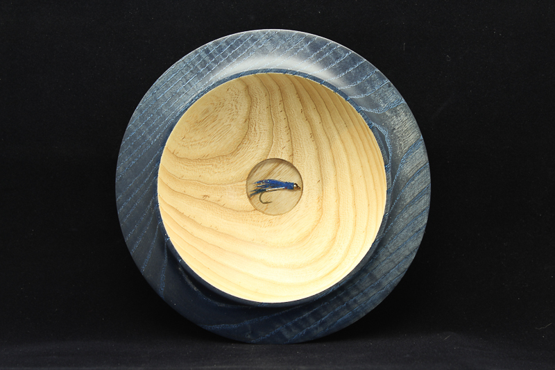Ash Fly Fishing Bowl (SOLD)