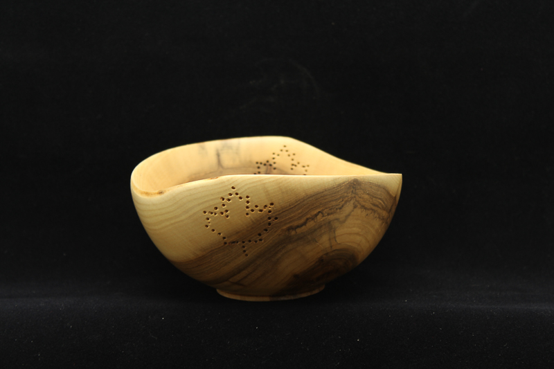Pierced Willow Bowl $100