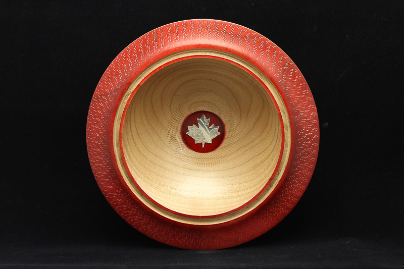 Maple Bowl with Inlay (SOLD)