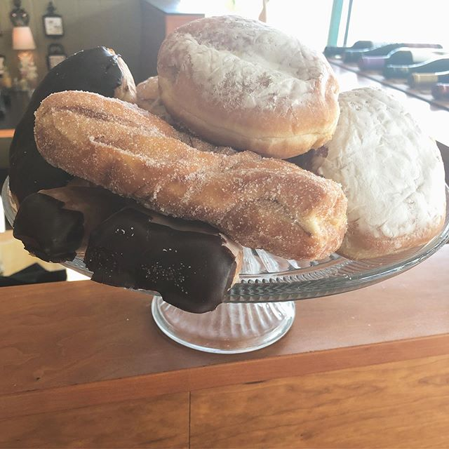 Happy national doughnut day! We got 'em for a buck. #doughnuts #breakfast #brunch #coffeeshop