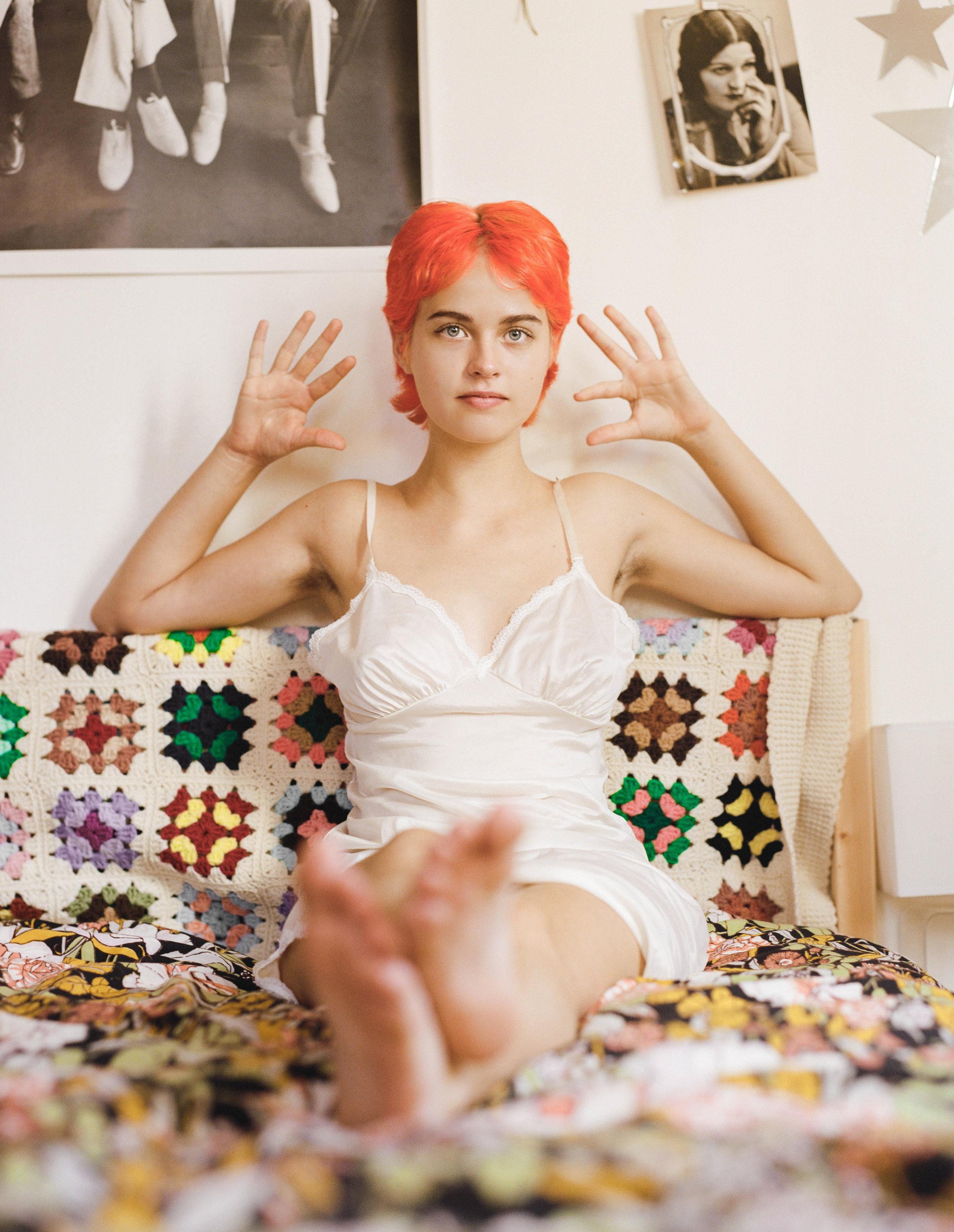 Hannah Martin In Her Bedroom, 2016