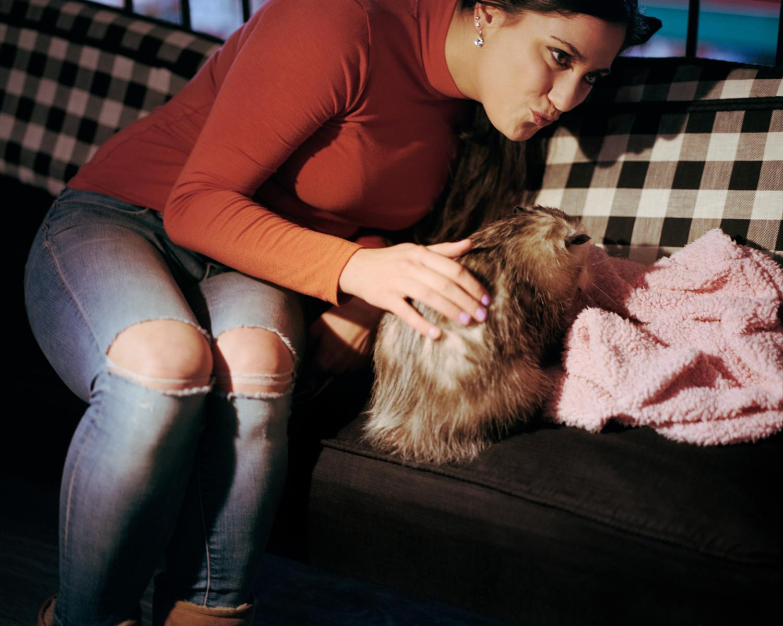 Vermin Influencers - Ally and her pet opposum Starfish (14).jpg