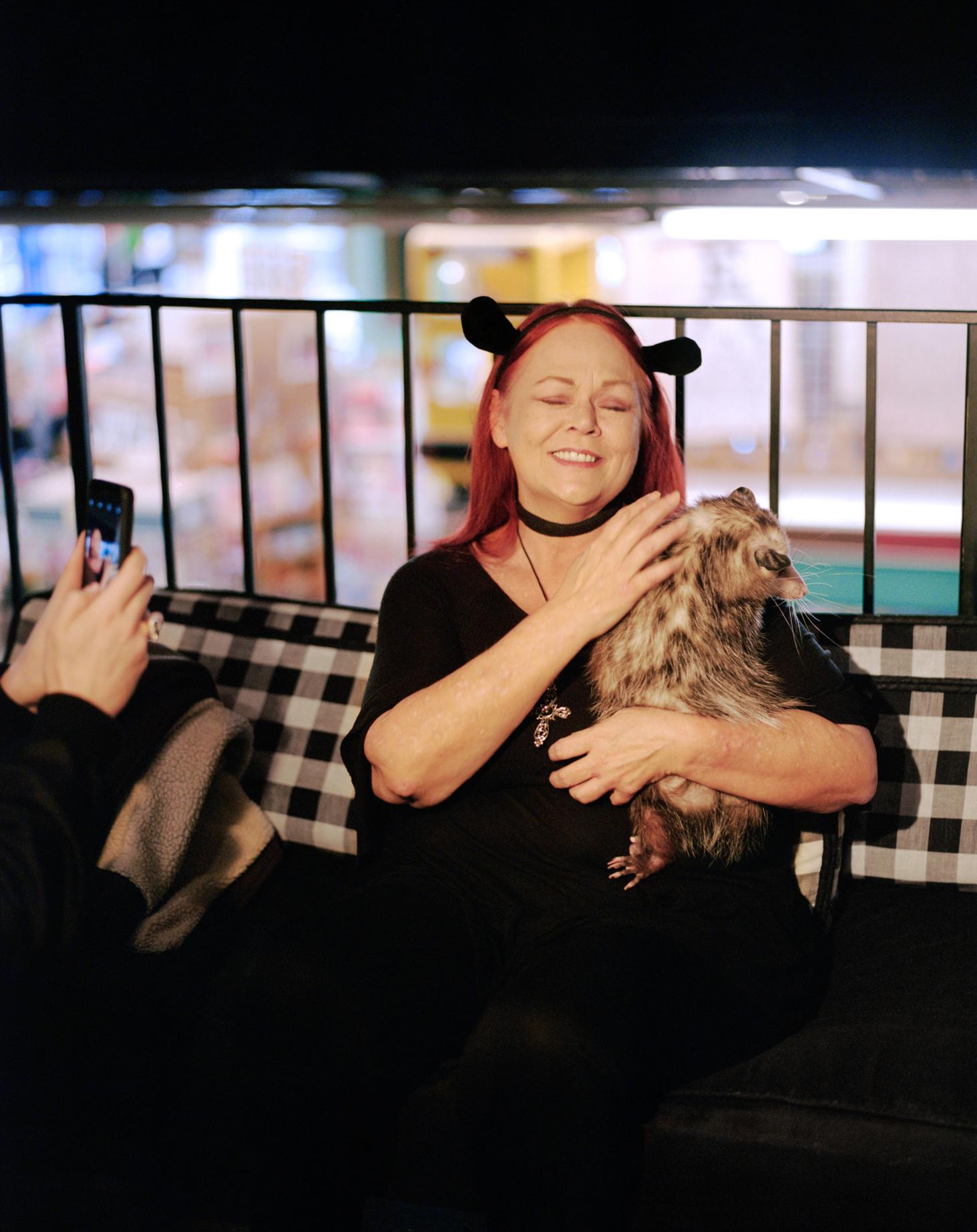 Vermin Influencers - Ally and her pet opposum Starfish (12).jpg
