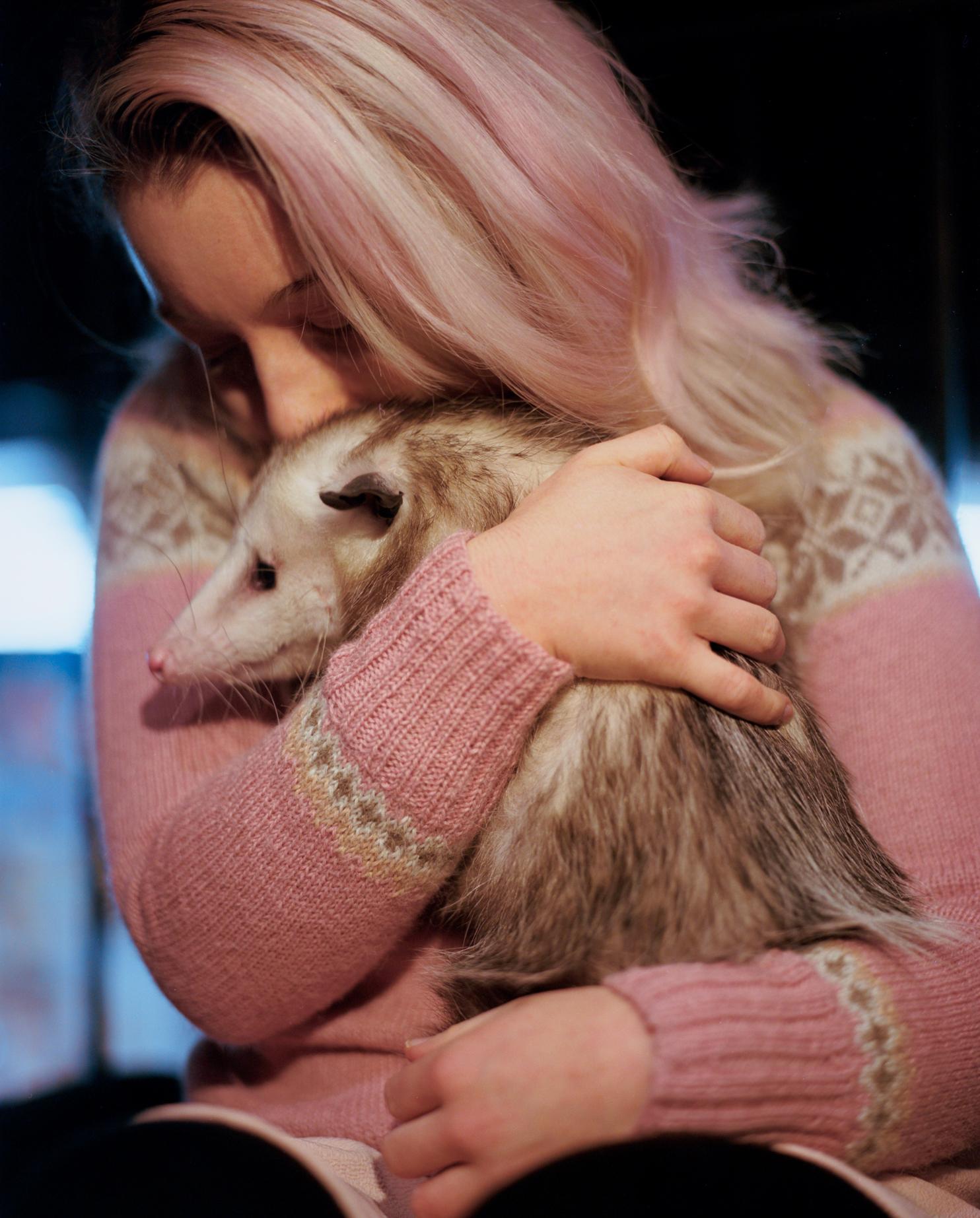 Vermin Influencers - Ally and her pet opposum Starfish (21).jpg