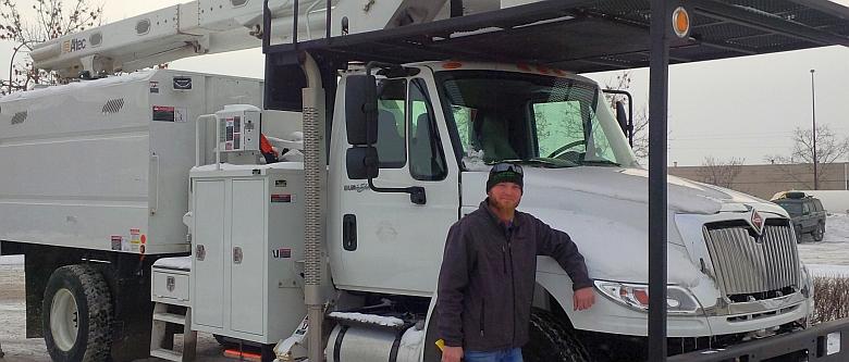 Arborist Bucket Truck