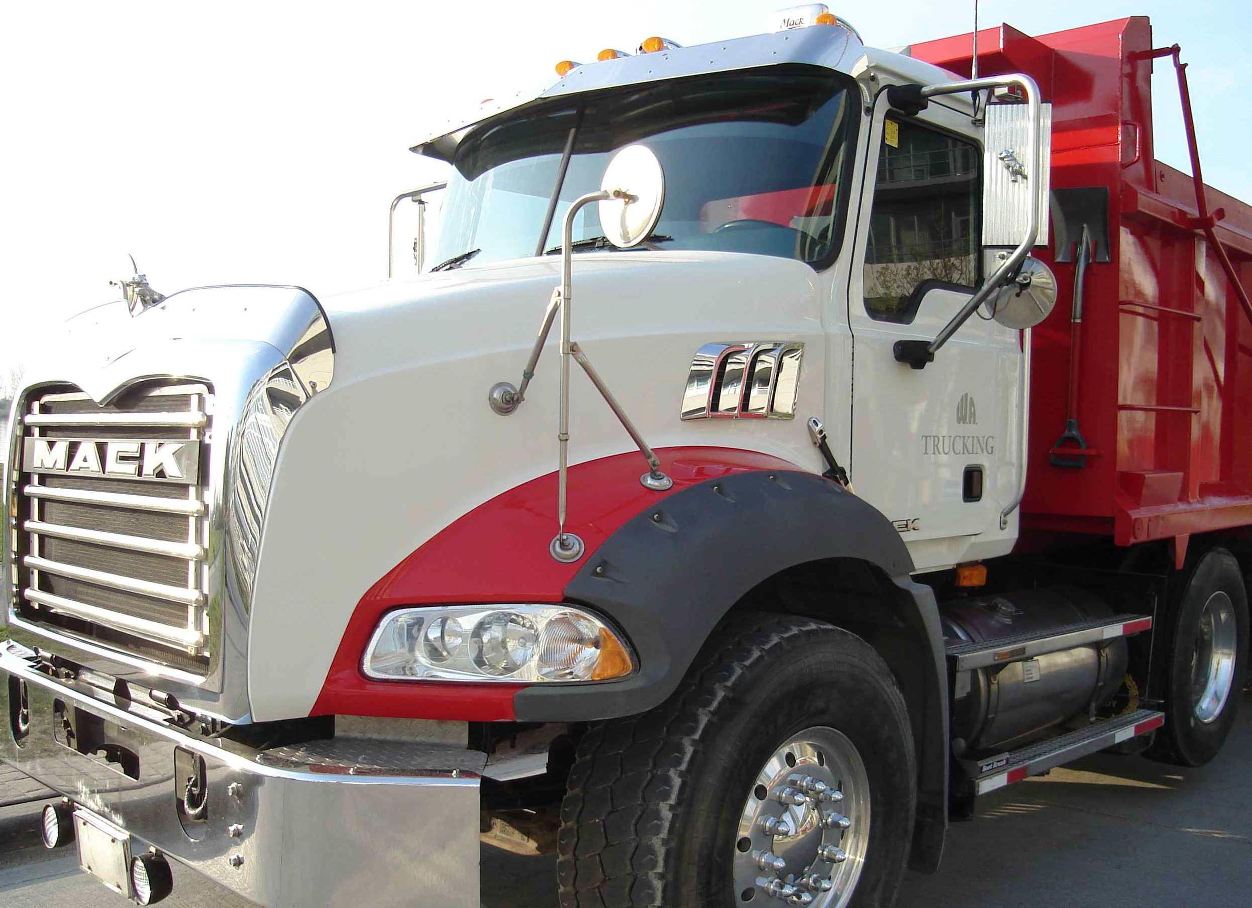 Lease a Heavy Spec Mack Dump Truck