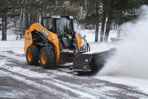 Lease a Skid Steer Loader - Snow Removal Brush