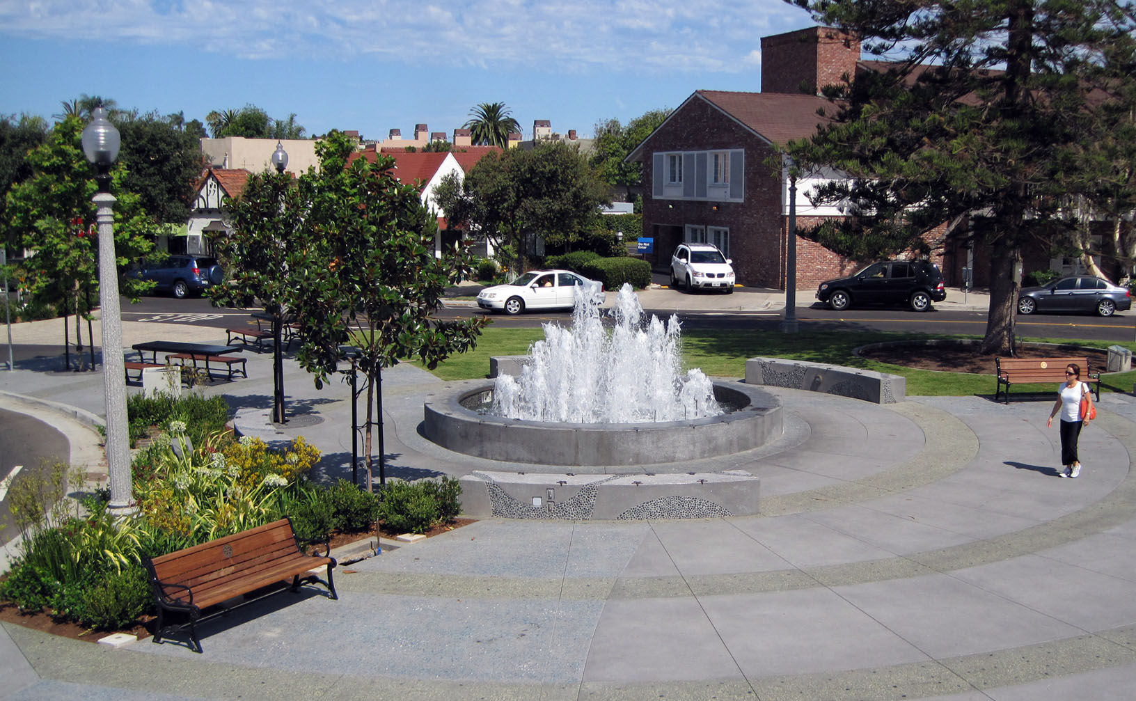 Coronado Rotary Plaza Street & Pedestrian Improvement, Coronado, California