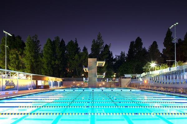 UCLA Spieker Aquatics Center, Los Angeles, California