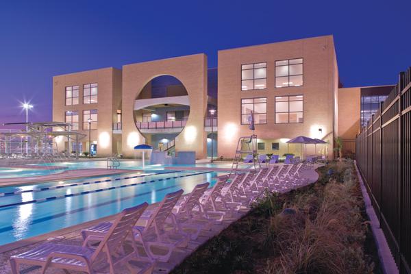 UT Pan American Wellness and Recreational Sports Complex, Edinburg, Texas