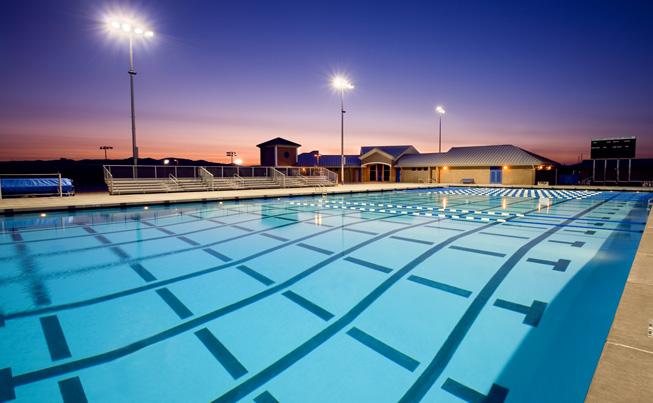 Dougherty Valley High School Aquatic Center, San Ramon, California