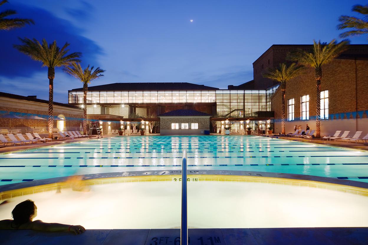 University of Texas Gregory Gymnasium Aquatics Complex, Austin, Texas