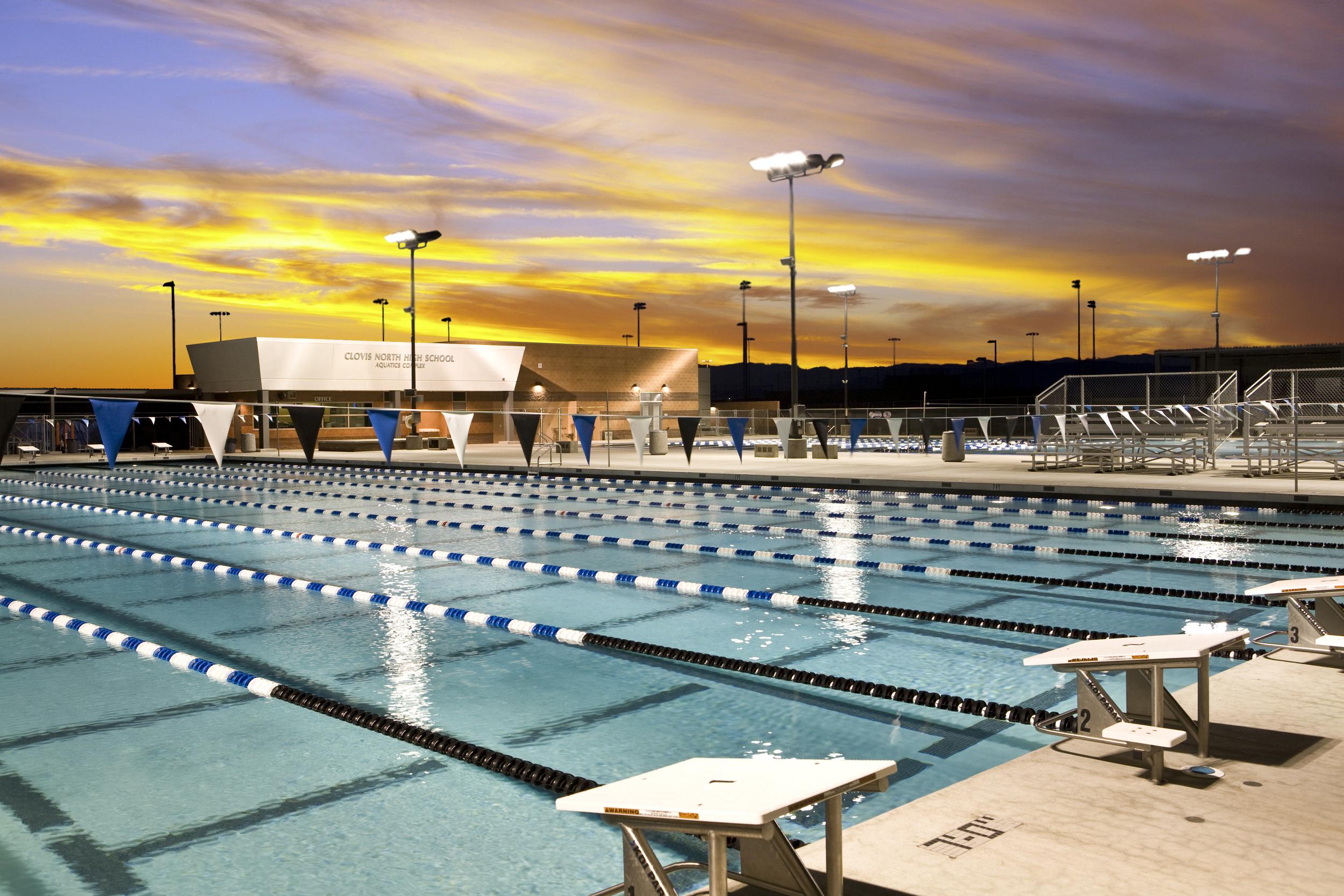 Clovis North High School Aquatics Complex, Clovis, California