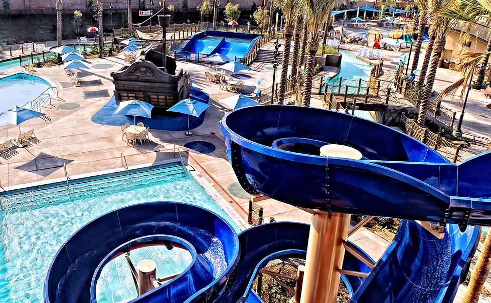 """""""The Cove"""" Waterpark / Jurupa Valley Aquatic Center, Riverside, California"""