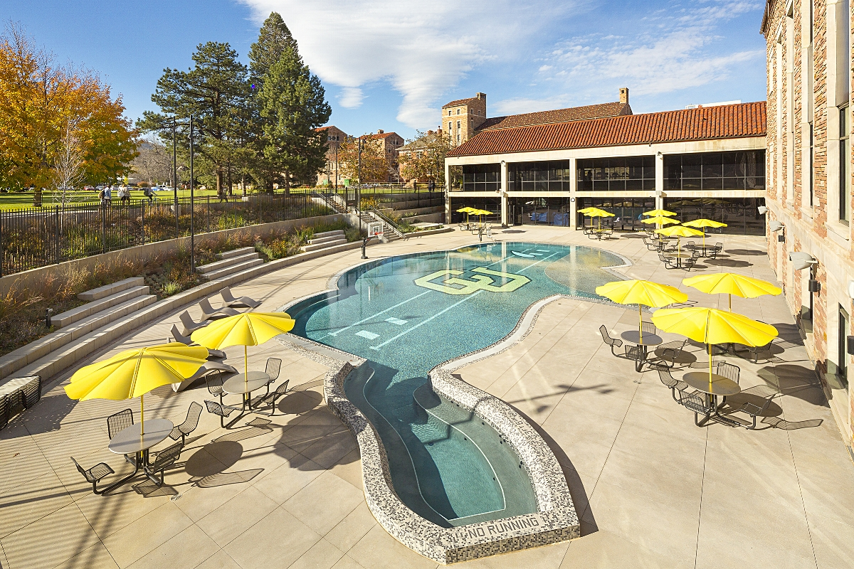 University of Colorado Student Recreation Center Expansion, Boulder, Colorado