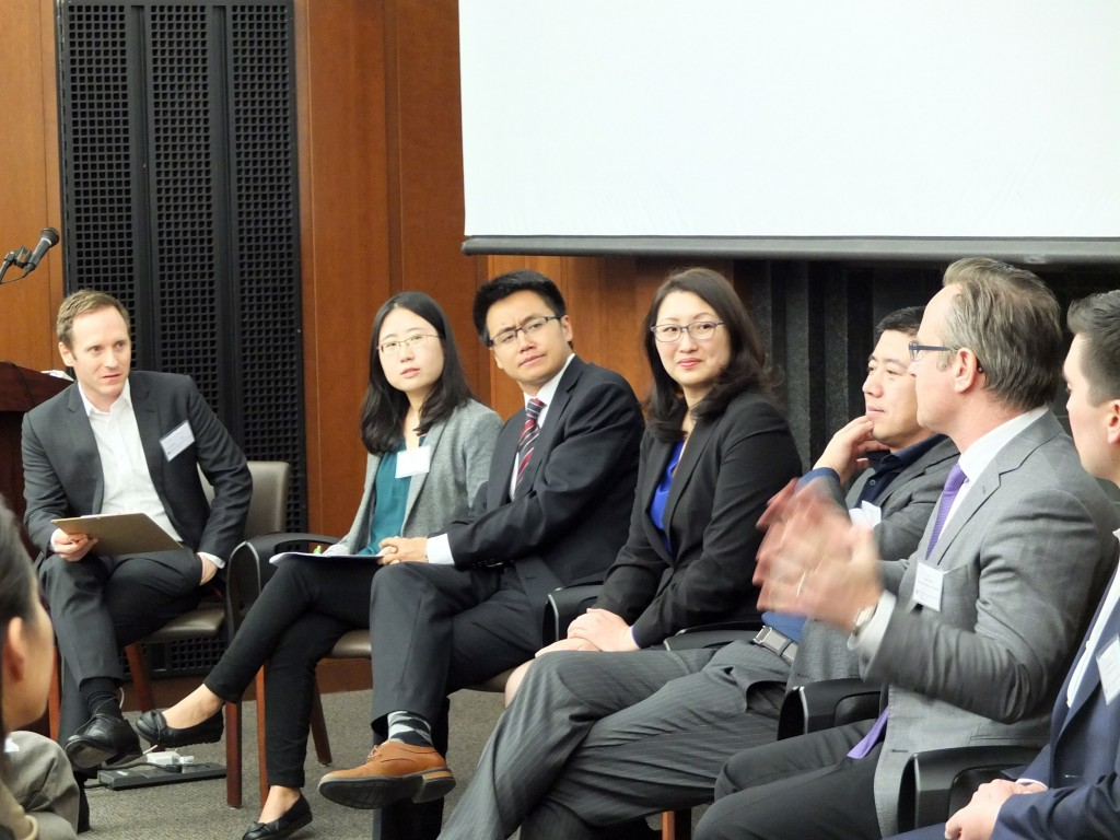 During the panel discussion, Jones discusses Chinese investment in the Puget Sound region.